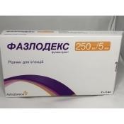 Фазлодекс 250 мг/5мл № 2