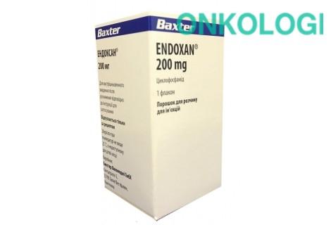 Эндоксан пор. д/ин. 200 мг ин балк №1