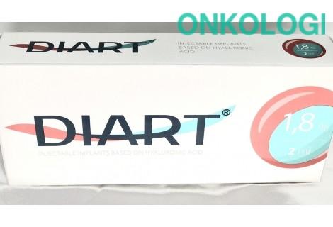 Имплантат инъекционный Диарт 1,8 % шприц 2 мл, с 2-мя иглами 21G